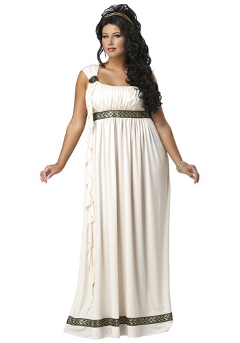 Plus Size Olympic Goddess Costume | Womens Greek Goddess Costume Ideas