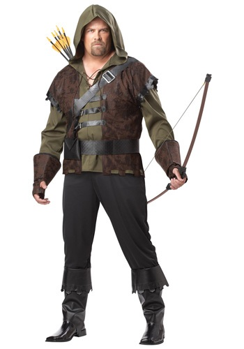 Click Here to buy Plus Size Robin Hood Costume - Robin Hood Costumes for Adults from HalloweenCostumes, CDN Funds & Shipping