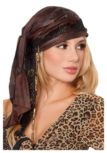 Brown Pirate Bandana