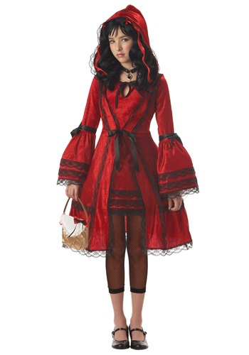 Tween Strangeling Riding Hood Costume