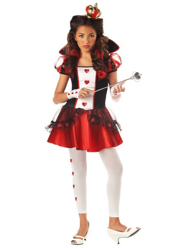 Tween Queen of Hearts Costume | Movie Character Costume