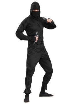 Plus Size Deluxe Ninja Costume Front