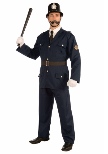 Click Here to buy Keystone Cop Costume from HalloweenCostumes, CDN Funds & Shipping