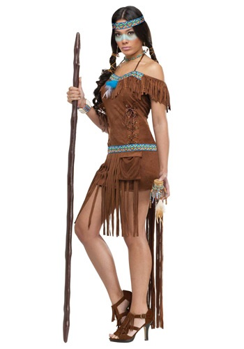 Click Here to buy Native American Healer Womens Costume from HalloweenCostumes, CDN Funds & Shipping