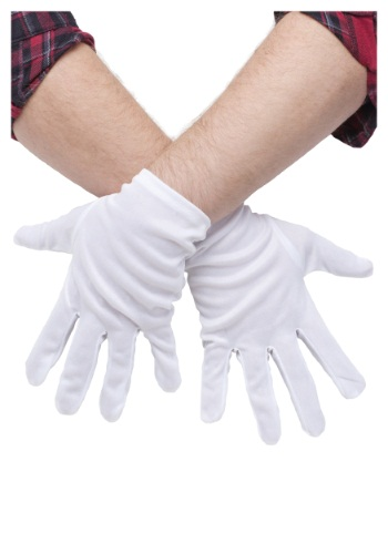 Click Here to buy Plus Size White Gloves from HalloweenCostumes, CDN Funds & Shipping