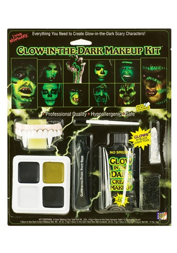 Glow in the Dark Makeup Kit