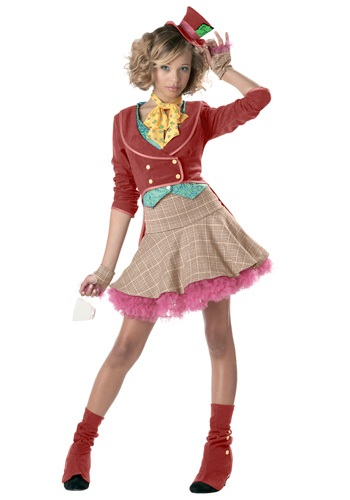 Click Here to buy Teen Girls Mad Hatter Costume | Movie Character Costumes from HalloweenCostumes, CDN Funds & Shipping