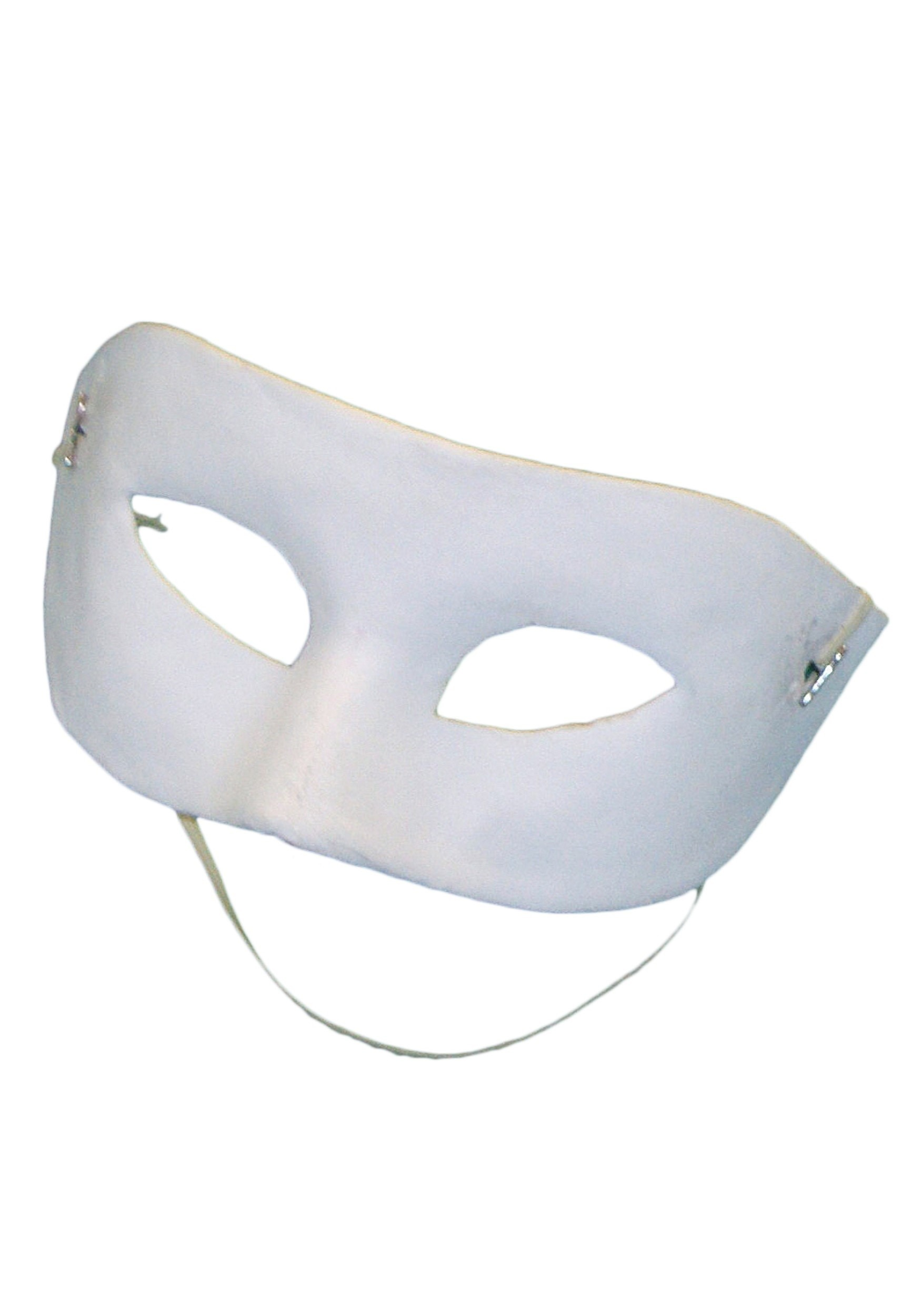 Blank White Eye Mask