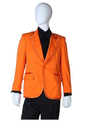 Orange Tuxedo Coat