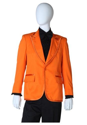 Orange Tuxedo Coat