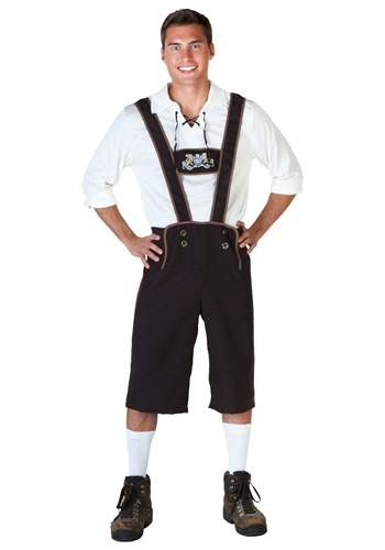 Click Here to buy Plus Size Lederhosen Costume from HalloweenCostumes, CDN Funds & Shipping