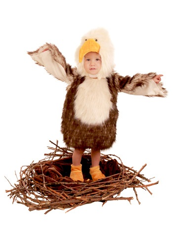 Click Here to buy Toddler Bald Eagle Costume from HalloweenCostumes, CDN Funds & Shipping