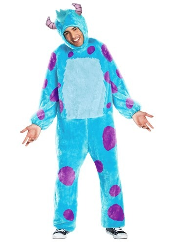 Click Here to buy Monsters Inc Sulley Plus Size Mens Costume from HalloweenCostumes, CDN Funds & Shipping