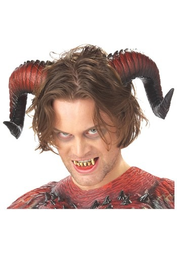 Click Here to buy Devil Horns and Teeth from HalloweenCostumes, CDN Funds & Shipping