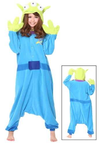 Alien Pajama Costume Front