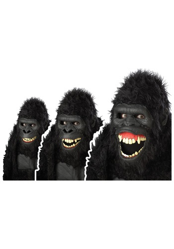 Click Here to buy Goin Ape Gorilla Mask from HalloweenCostumes, CDN Funds & Shipping