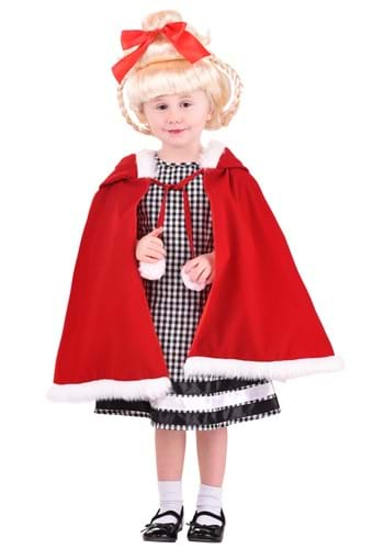 Click Here to buy Toddler Christmas Girl Costume from HalloweenCostumes, CDN Funds & Shipping