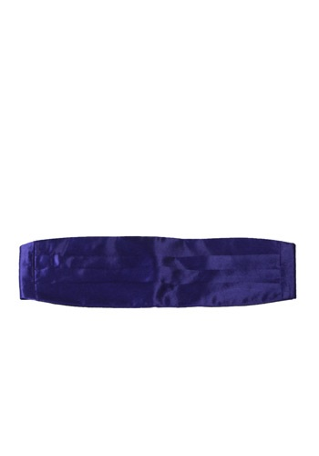 Purple Cummerbund