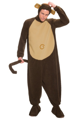 Click Here to buy Plus Size Monkey Costume from HalloweenCostumes, CDN Funds & Shipping