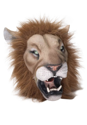 Click Here to buy Deluxe Latex Lion Mask from HalloweenCostumes, CDN Funds & Shipping