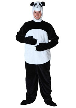 Plus Size Panda Costume