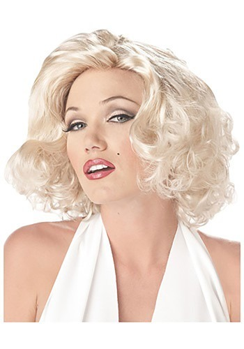 Click Here to buy Marilyn Wig from HalloweenCostumes, CDN Funds & Shipping