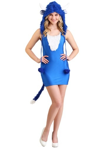 Click Here to buy Sexy Babe the Blue Ox Costume from HalloweenCostumes, CDN Funds & Shipping