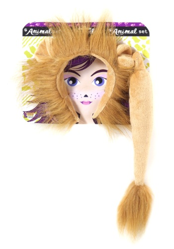 Click Here to buy Lion Ears and Tail Kit from HalloweenCostumes, CDN Funds & Shipping