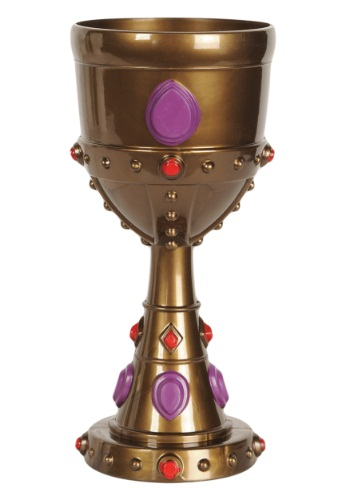 Plastic Jeweled King Goblet