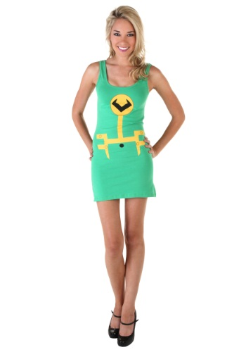 Womens Loki Tunic Tank Dress Front