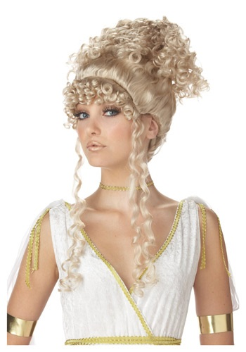 Click Here to buy Athenian Goddess Wig from HalloweenCostumes, CDN Funds & Shipping