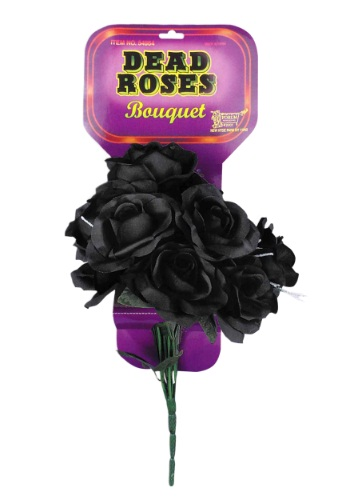 Click Here to buy Black Roses Bouquet from HalloweenCostumes, CDN Funds & Shipping