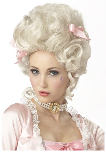 Click Here to buy Marie Antoinette Wig from HalloweenCostumes, CDN Funds & Shipping