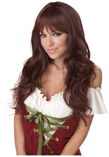 Click Here to buy Wavy Brunette Wig from HalloweenCostumes, CDN Funds & Shipping