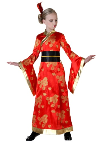 Click Here to buy Kids Kimono Costume from HalloweenCostumes, CDN Funds & Shipping