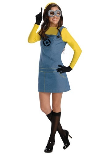 Womens Female Minion Costume