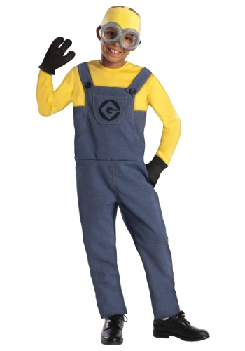 Boys Dave Minion Costume