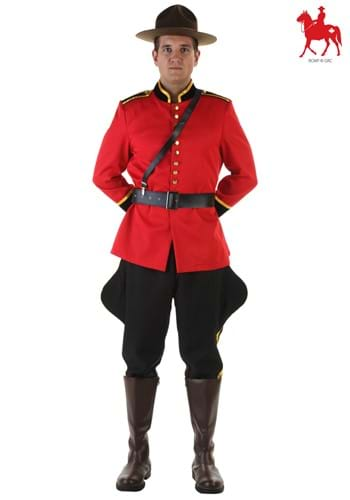 RCMP Mens Canadian Mountie Costume