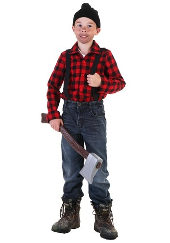 Click Here to buy Kids Lumberjack Costume from HalloweenCostumes, CDN Funds & Shipping