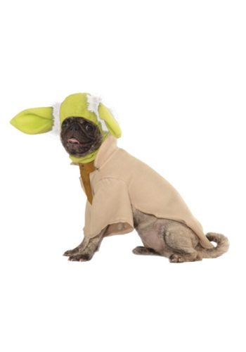 Click Here to buy Yoda Pet Costume from HalloweenCostumes, CDN Funds & Shipping