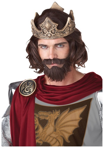 Click Here to buy Medieval King Wig from HalloweenCostumes, CDN Funds & Shipping