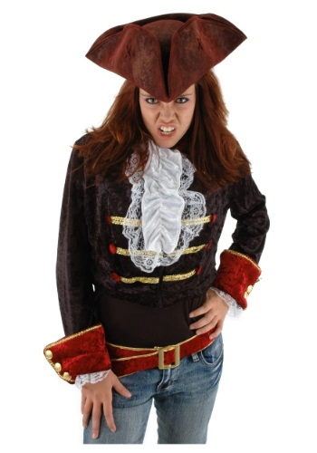 Click Here to buy Scallywag Blood Red Hat from HalloweenCostumes, CDN Funds & Shipping