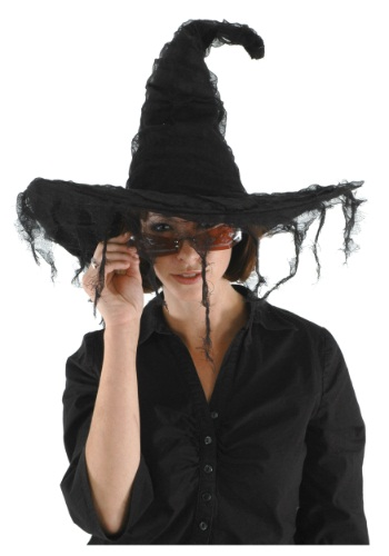 Click Here to buy Grunge Witch Black Hat from HalloweenCostumes, CDN Funds & Shipping