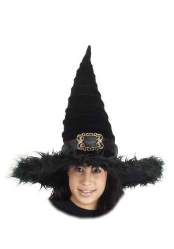 Click Here to buy Ridged Witch Hat from HalloweenCostumes, CDN Funds & Shipping