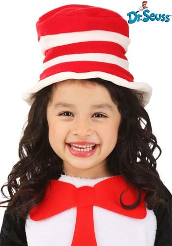 Click Here to buy Toddler Cat in the Hat from HalloweenCostumes, CDN Funds & Shipping