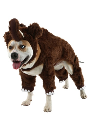 Click Here to buy Woolly Mammoth Pet Costume - Funny Costumes for Dogs from HalloweenCostumes, CDN Funds & Shipping