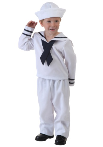 Click Here to buy Toddler Sailor Costume from HalloweenCostumes, CDN Funds & Shipping