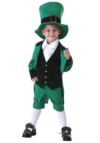 Click Here to buy Toddler Leprechaun Costume from HalloweenCostumes, CDN Funds & Shipping