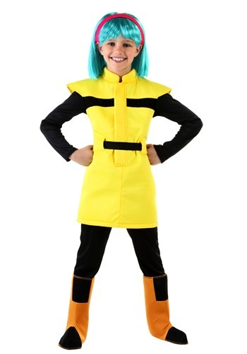 Click Here to buy Dragon Ball Z Kids Bulma Costume from HalloweenCostumes, CDN Funds & Shipping