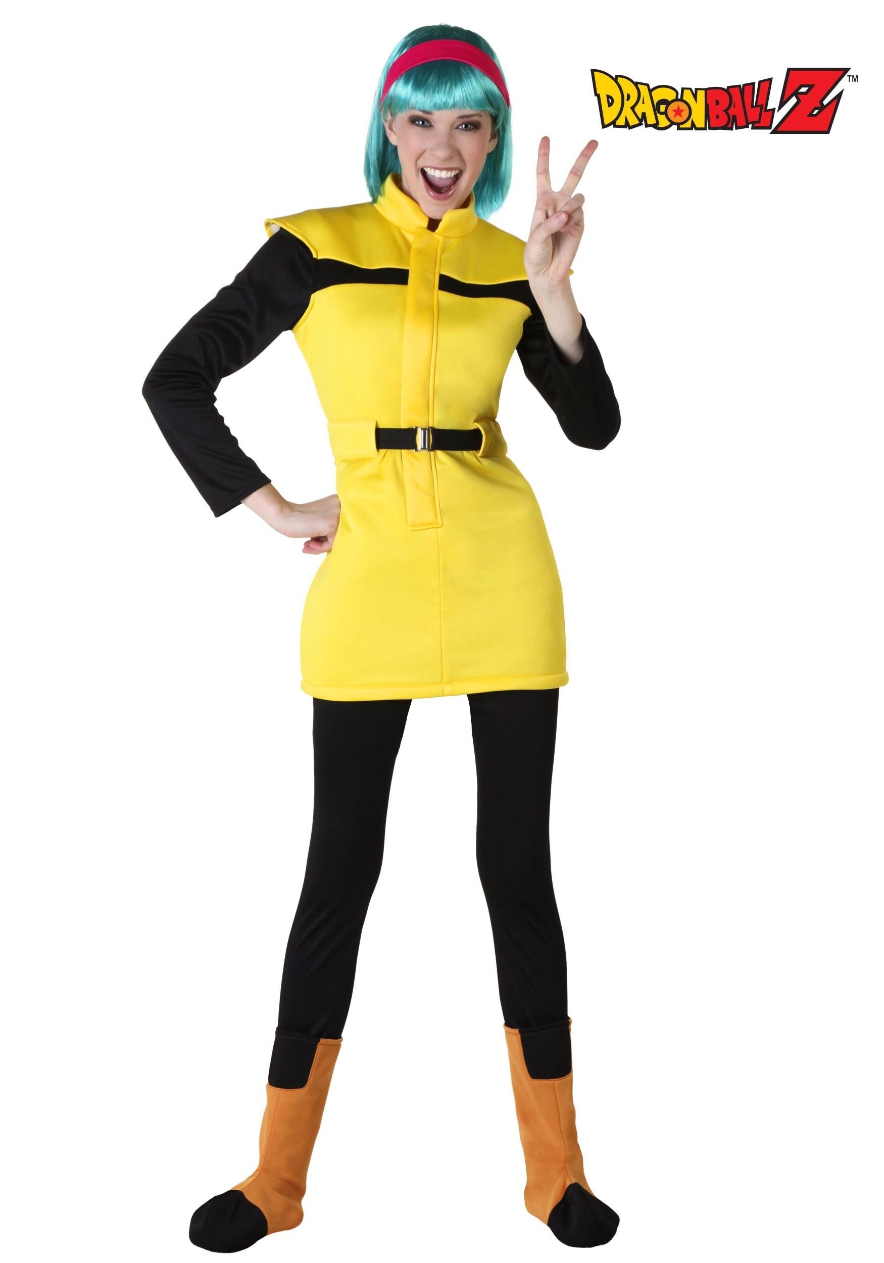 sc 1 st  Halloween Costumes CA & Dragon Ball Z Adult Bulma Costume